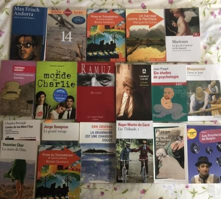 Livres pour étudiant niveau gymnase