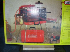Vends grille-broche à gaz,Type Cramer