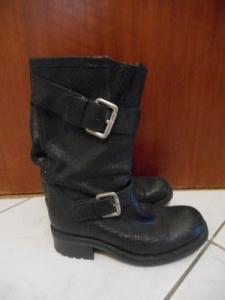 Botte noire free lance paris pointure 37