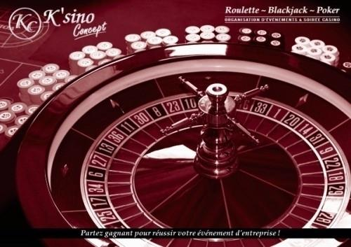 Soirée casino animation entreprise