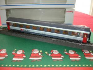 Marklin HO 4266 voiture train express EUROFIMA A9 CFF, 1.Cl
