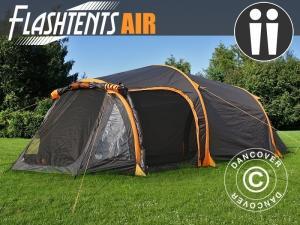 Campingzelt FlashTents® Air, 2 Personen, orange/dunke
