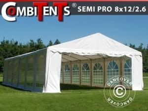 Partyzelt, SEMI PRO Plus CombiTents® 8x12 (2,6)m 4-in-1