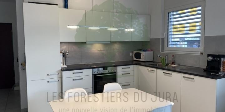 Appartement de 2,5 pièces avec jardin à Delémont