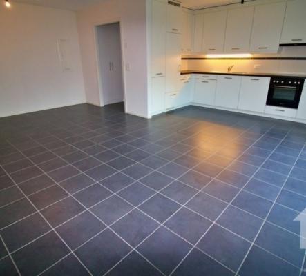 Appartement avec terrasse 2,5p de 73 m2 loué. Idéal pour du rendement!