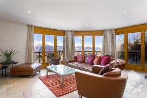 Spacieux appartement traversant d'angle, 4.5 p. 130 m2, vue superbe