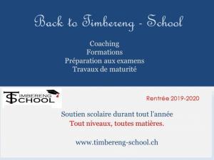Rentrée scolaire chez Timbereng-School
