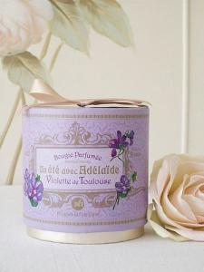 Bougie parfumée Violette de Toulouse