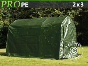 Lagerzelt PRO 2x3x2m PE, Grün