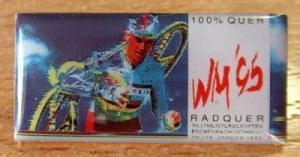 Pin´s Radquer WM 95 Velo