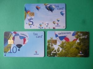 MSB : Serie - Tax Card  -  Montgolfières
