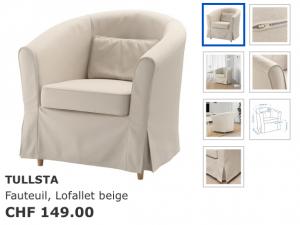Fauteuils Ikea Tullsta