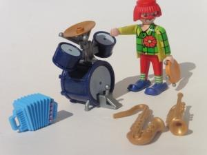 Playmobil : Ensemble clown musicien