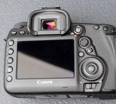Appareil photo Canon EOS 5D mark IV.