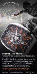 Franck Muller launches a luxury Bitcoin watch