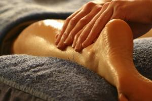 Aujourd'hui, c'est massage.