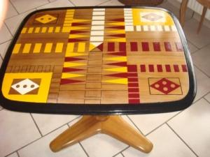 Table de Jeu en bois