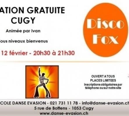 Initiation gratuite Disco Fox