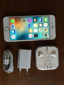 Iphone 6s blanc 64gb quasi neuf avec fil
