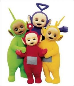 Teletubbies Vol 1 DVD