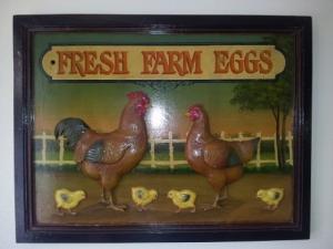 """Tableau Country Corner """"Fresh Farm Eggs"""""""