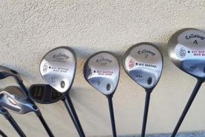 Série clubs de golf avec sac