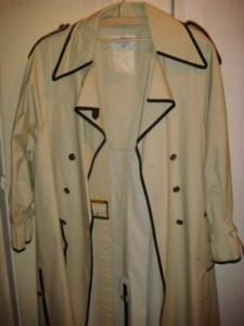 Manteau Chanel imper cotton