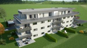 HOME SERVICE vous propose un attique de 4,5 p. - 122 m2 de terrasse.