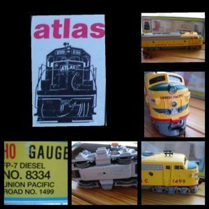Kaleidoscope Atlas HO 8334 FP-7 Diesel Union Pacific