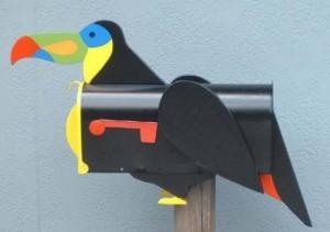 Boites aux lettres toucan