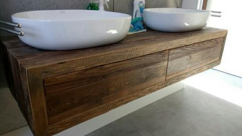 vieux bois -meuble en vieux bois