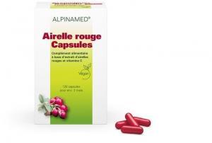 Alpinamed Airelle rouge + vitamine C 500 capsules