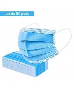 masque de protections 3 couches / 50