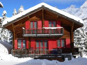 Saas-Fee Valais: charmant Chalet 9 pers