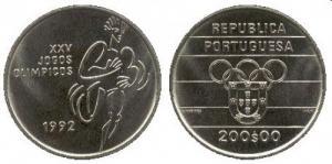 200 Escudos - XXV Jogos Olimpicos