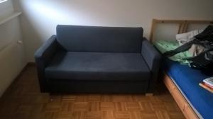 canape lit noir
