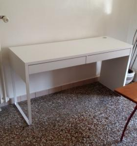 Bureau blanc Ikea Micke