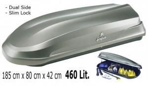 Coffre de toit super design, 460 Lit.