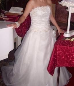 Robe de mariée ivoire