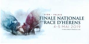Deux billets pour la finale nationale de la race d'Hérens