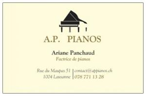 Accordages et réparations de pianos