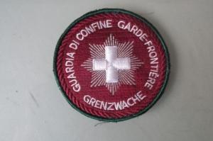 badge garde-frontière police gendarmerie
