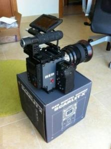 Camera red scarlet MX