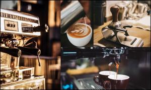 Le barista dans le café
