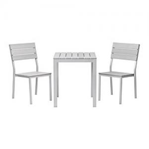 Table de balcon et deux chaises