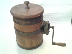 ancienne barrette au beurre d'origine du 19éme siècle