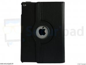 Etui / Fourre pour iPad Air 1 ou 2 - Noir avec ouverture