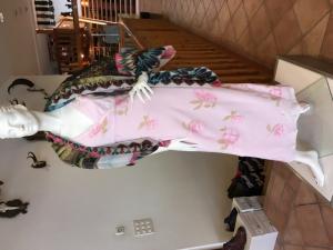 Vends robe longue d'été femme à fleurs