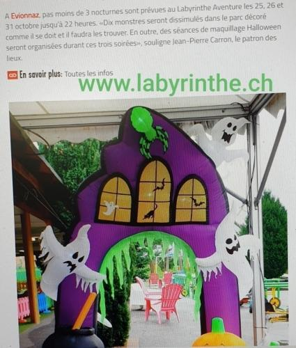 Halloween Labyrinthe Aventure
