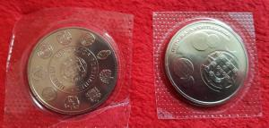 2 pieces de 10 euros commemoratives